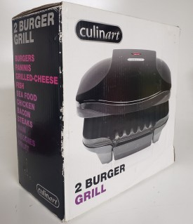 Culinart 2 Burger Grill #17047 by Sensio