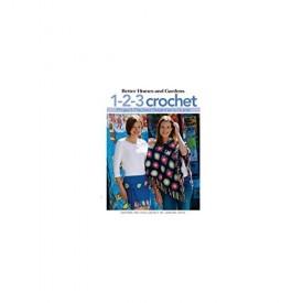 Leisure Arts LEA4333 BHG 1-2-3 Crochet Bk (Paperback)