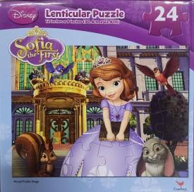 Disney Princess Sofia the First 24 Piece Lenticular Puzzle