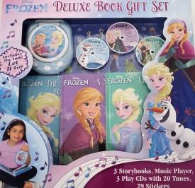 Disney Frozen Deluxe Music Player Book Gift Set