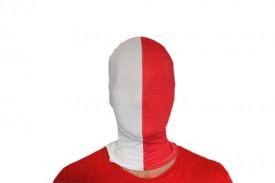 Morphsuit Mask For Halloween - White/Blue