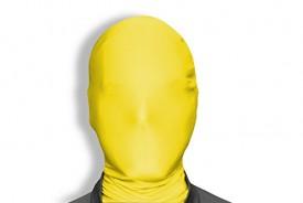 Morphsuit Mask For Halloween - Yellow