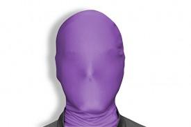 Morphsuit Mask For Halloween - Purple