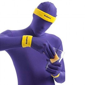Yellow Morph Sweat Bands One Size