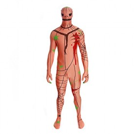 Morphsuit Costumes For Halloween Scary Costumes - Pumpkin Size Large