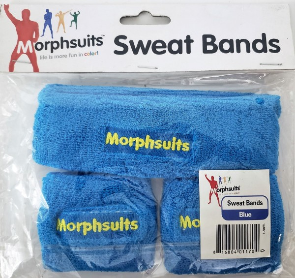 Blue Morph Sweat Bands One Size