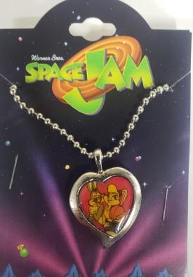 Starline Looney Tunes Space Jam Jewelry Bugs Bunny & Sexy Girlfriend Lola Necklace