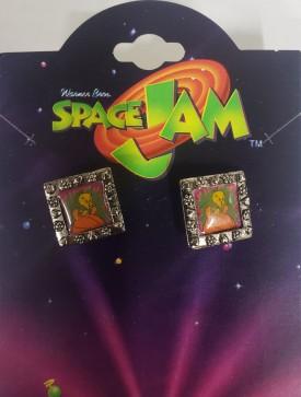 Starline Looney Tunes Space Jam Jewelry - Tweety Bird Pierced Earrings 1037