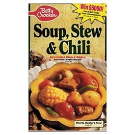 Soup. Stew & Chili No. 76, January 1993 (Betty Crocker) (Cookbook Paperback)