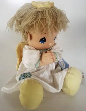 """Precious Moments Plush Praying Angel Doll - Joshua 10"""""""