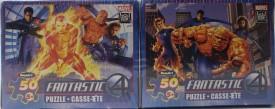 FANTASTIC 4 CLOBERIN' TIME! & FLAME ON! Mini Puzzles 2 Box Set