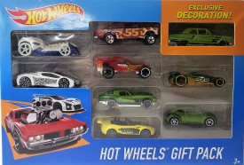 2016 Mattel Hot Wheels 9-Car Collector Gift Pack Exclusive Decoration X6999