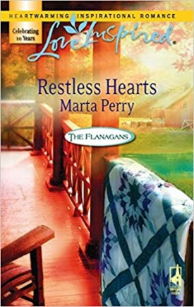 Restless Hearts (The Flanagans, Book 6) (Love Inspired #388) (Mass Market Paperback)