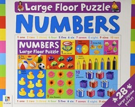 Numbers Large Floor Puzzle 28 Piece
