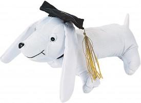 Graduation Autograph Dog for Graduation - Toys - Plush - Stuffed Autograph - Graduation - 1 Piece
