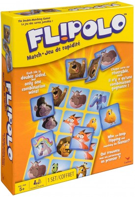 Cardinal Flipolo Matching Game, One Size, Multicolor