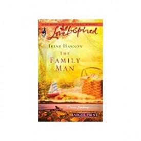 The Family Man (Davis Landing, Book 3) (Larger Print Love Inspired #364) (Mass Market Paperback)