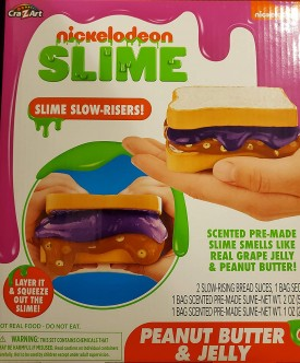 Cra-Z-Art Nickelodeon Peanut Butter & Jelly Squeezies