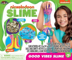 Cra-Z-Art Nick Groovy Slime Kit Now Good Vibes