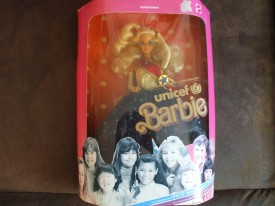 Mattel 1989 Unicef Barbie