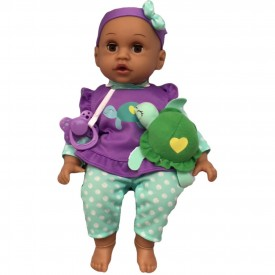 My Sweet Lover Baby Doll, African-American Maggie with Accessories (AA Mid, Purple)