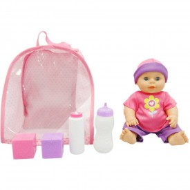 """My Sweet Love 10.5"""" Backpack Baby with Accessories, Pink"""