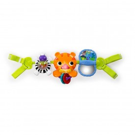 Bright Starts Take Along Musical Carrier Activity Toy Bar, Ages Newborn +, Multi-Color