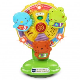 VTech Baby Lil' Critters Spin and Discover Ferris Wheel, Green
