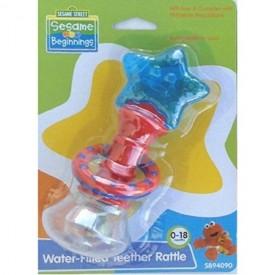 Baby Teether Rattle Sesame Street Beginnings - 0-18 Months Teething Toy