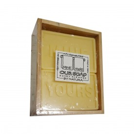 MINE YOURS Our Soap Honey Scented by Natura