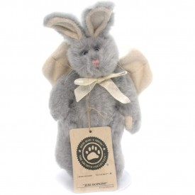 "Boyds Bears Plush Ornament - Jeri Hopkins - Angel Hare Rabbit 6"""