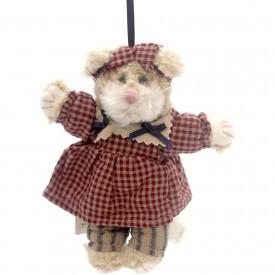 "Boyds Bears Plush Ornament - Katalina Kafinata - Cat 6"""