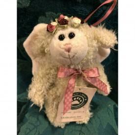 "Boyds Bears Plush Ornament - Lilith Angel Ewe Lamb Sheep 6"""