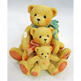 """Cherished Teddies Theadore, Samantha & Tyler """"Friends Come In All Sizes"""" 950505"""