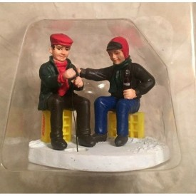 Coca-Cola Town Square Collection Gone Fishing Item #64315