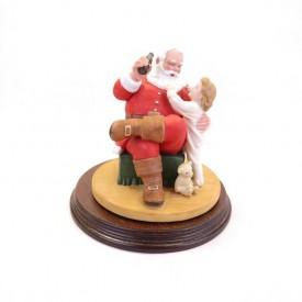 Coca-Cola Classic Santa Claus by Royal Orleans Figurine
