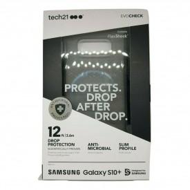 Tech21 EVOCheck Drop Protection Case for Samsung Galaxy S10+ - Smokey Black