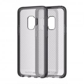 Tech21 Evo Check Series Case - Samsung Galaxy S9 Smokey Grey (Black)