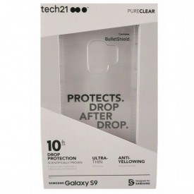 Tech21 PureClear Case for Samsung Galaxy S9 Pure Clear