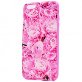 Incipio Design Series Hard Shell Case for iPhone 6 Plus/6 Plus - Retail Packaging - Peony Floral