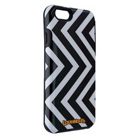 M-Edge Loudmouth Protective Case Cover for iPhone 6s 6 - Black White