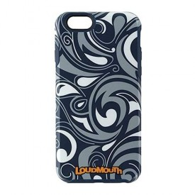 M-Edge LoudMouth Hybrid Case for Apple iPhone 6/6s - Navy Blue / Gray / White