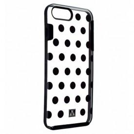 M-Edge Glimpse Series Protective Case for iPhone 8 Plus 7 Plus - Black Dots