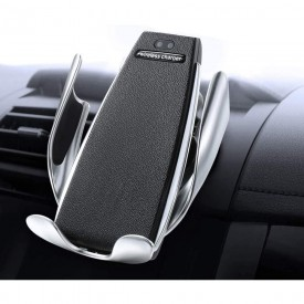 TIMESS Infrared Penguin S5 Wireless Charger, Smart Automatic Clamping Fast Wireless Car Charger Infrared Auto-sens Air Vent Mount for iPhone Xs/XR/X/8/8 Plus, Samsung S9+, S7/S7 Edge, Note9/8