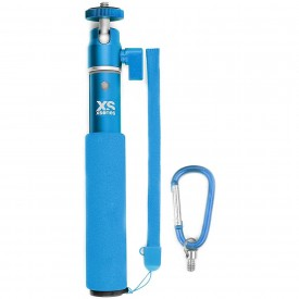 """XSories 19"""" U-Shot Telescopic Pole for Action and Compact Cameras - Selfie Stick (Pool Blue)"""
