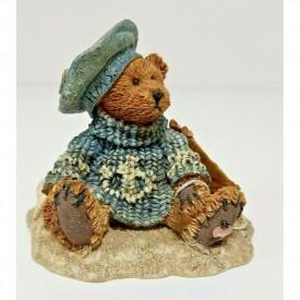 Boyds Bears Bearstone Resin Figurine Christian By the Sea