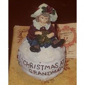 Yesterdays Child Boyds Dollstone Shannon... Christmas At Grandmas Ornament