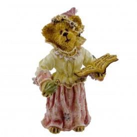 Boyds Bears Resin Figurine Shoe Box Bears PRINCESS ANEEDA KNIGHT 3227 Fairy Tale