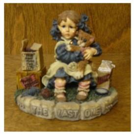 Yesterdays Child Boyds Dollstones #3530 JAMIE AND TOMASINA...THE LAST ONE Figurine