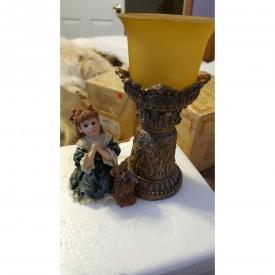 Yesterdays Child Boyds Dollstone Teresa and John ... The Prayer Votive Holder